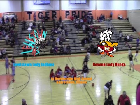 Lewistown Lady Indians vs Havana Lady Ducks GBB 122815