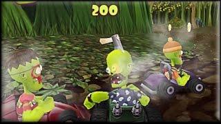 Zombie Karts - Game Walkthrough (all 1-5 races)