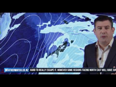 Antarctic Blast affects New Zealand this weekend (19/05/17)