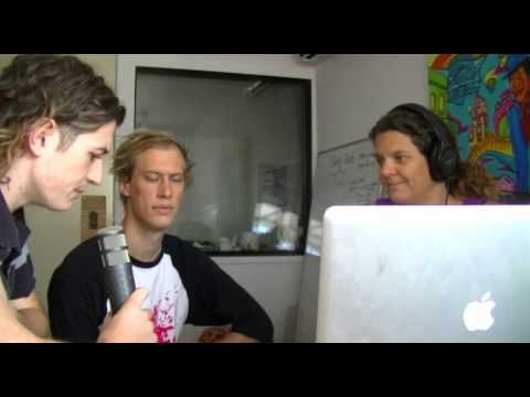 SKINWALKERS - Rabbit Radio Interview with Matty & Lach (04/12/2012)