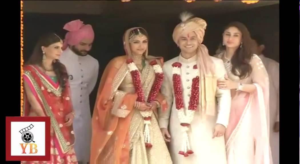 Saif Kareena Soha Kunal Khemu Sharmila Tagore At Wedding Must Watch Video