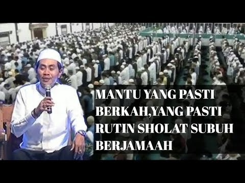 PASTI BERKAH.!! Ini Dia Sosok Pemuda CaLon Imam Dan Menantu Yang Jozz - KH Anwar Zahid Terbaru