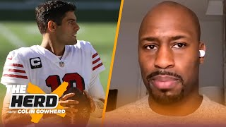 The 49ers finding another QB is crucial, Kyle Pitts is a great asset - Vernon Davis | NFL | THE HERD