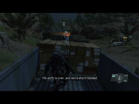 """MGSV Mission 20 Voices """"listen to the conversation about the bodies at Munoko va Nioka station"""""""