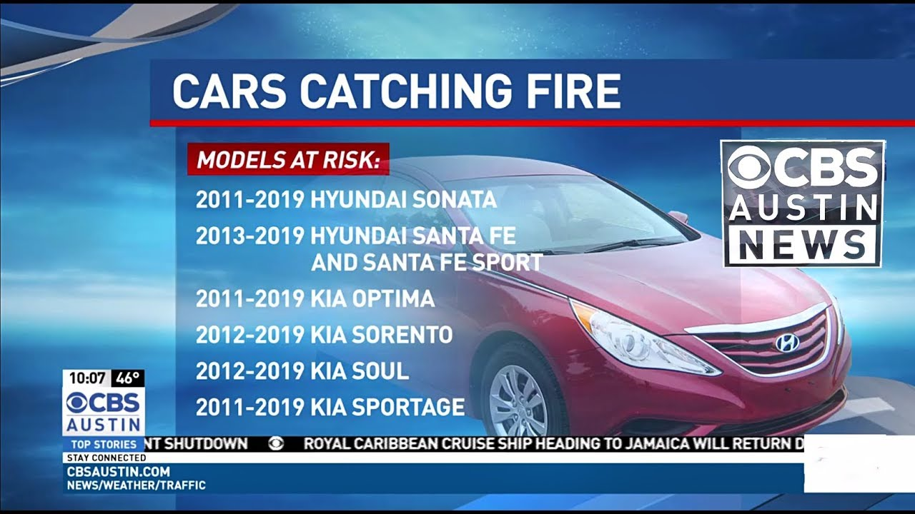 Class-Action Lawsuit Filed against Hyundai and Kia for Defect Causing  Spontaneous Car Fires