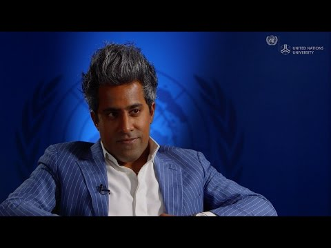 American Society: Pressures and Change, a Conversation with Mr Anand Giridharadas