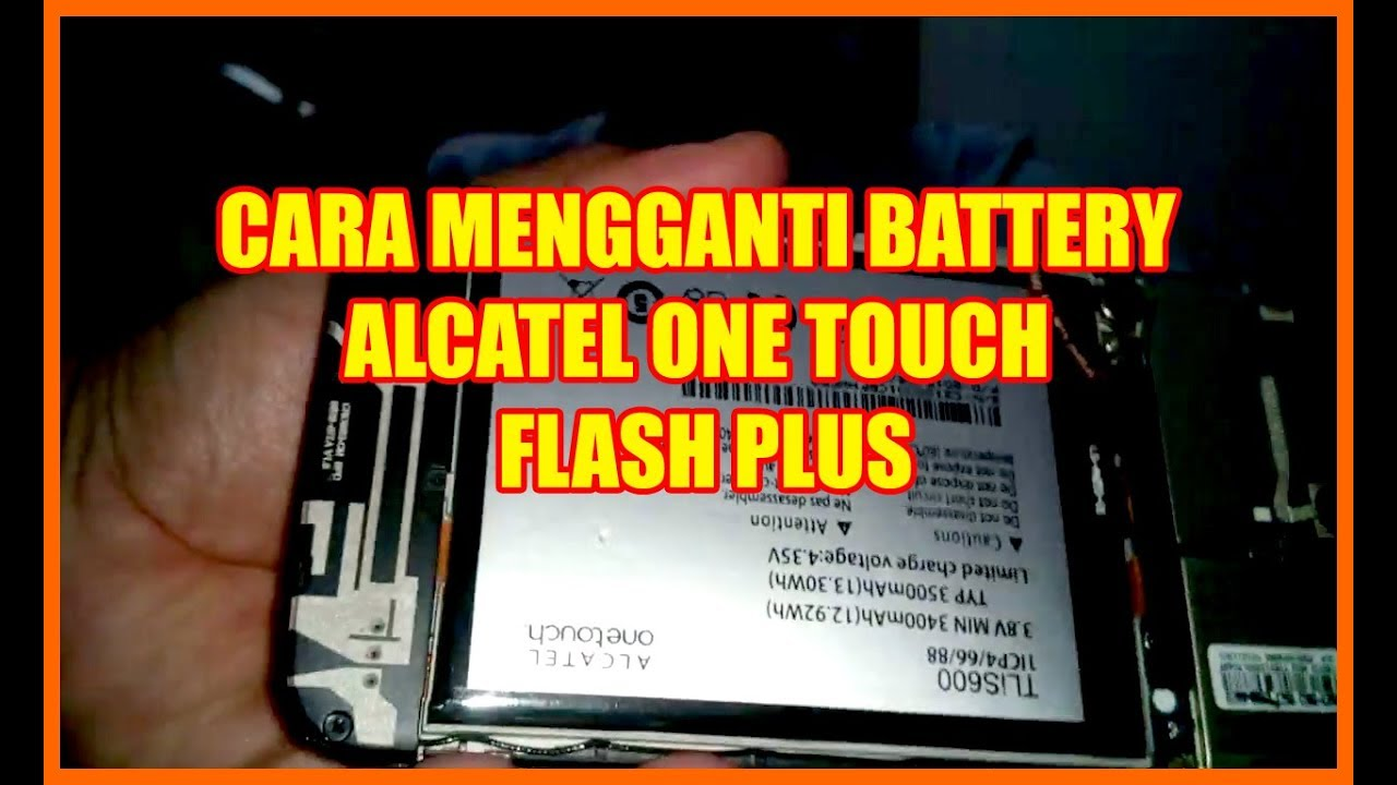 Cara Mengganti Battery Tanam How To Replace Battery Battery Alcatel