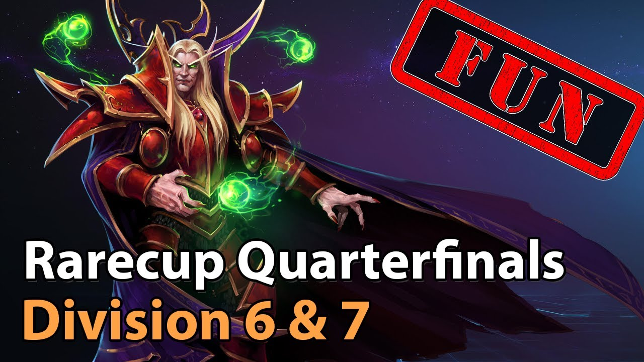 ► Rare Cup - Quarterfinal - HeroesLounge Division 6 & 7 - Heroes of the Storm Esports