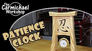 Patience Clock - Bandsaw Woodworking Project