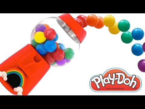 Learn Colors with Play Doh Thomas MLP LPS Frozen Inside Out ...