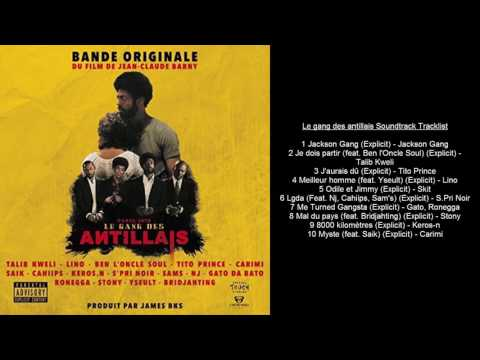 Le gang des antillais Soundtrack Tracklist streaming vf
