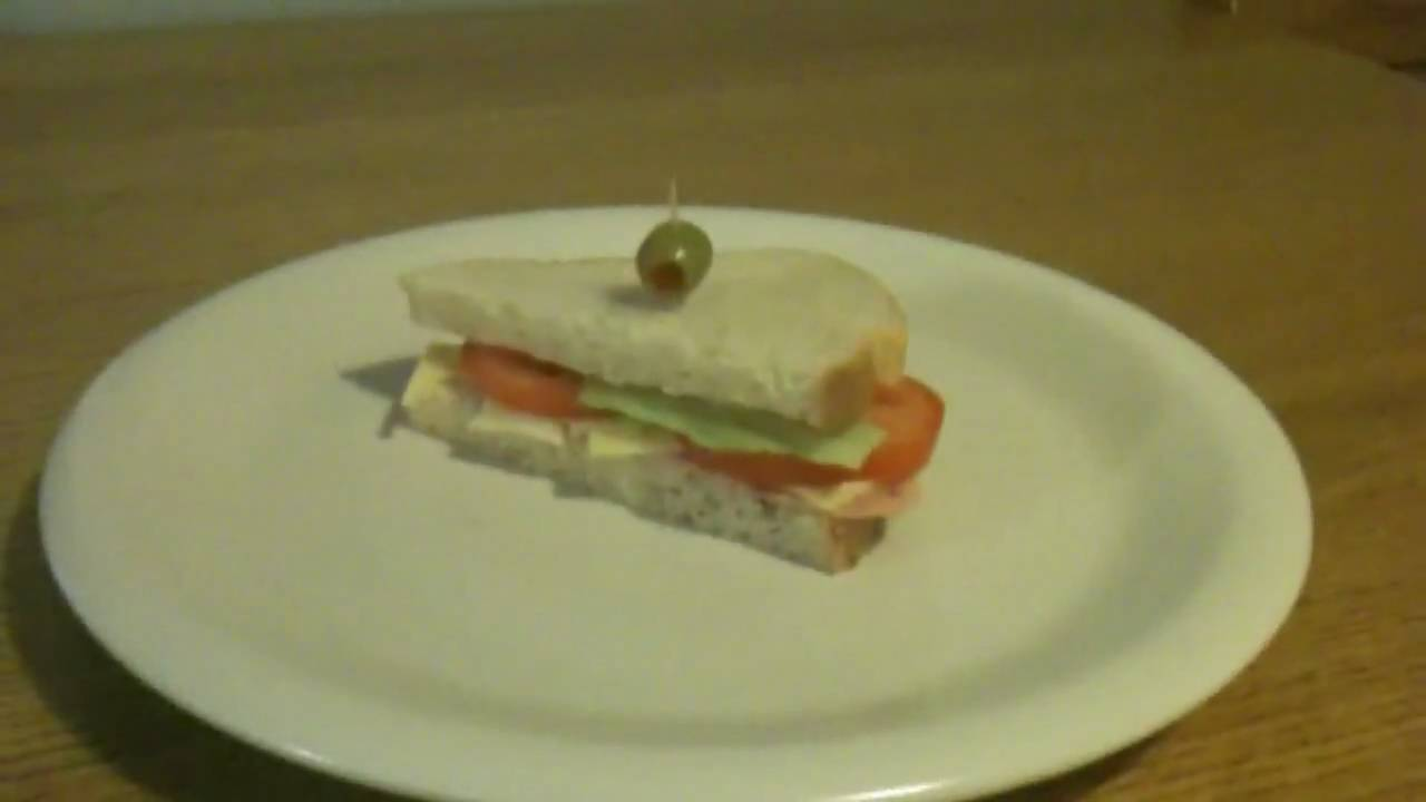 Making The Sandvich Youtube