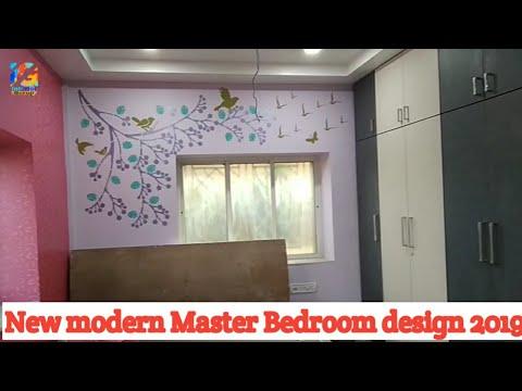 Master Bedroom design ideas | Wardrobe Behind Bathroom idea |15×12 2019 amazing colour and furnished