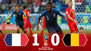 France 1 X 0 Belgium ● 2018 World Cup Semifinal Extended Goals & Highlights HD