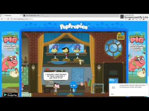 How to Make Sonic The Hedgehog on Poptropica