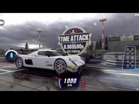 CSR Racing 2 Ultima RS Maxed Tune/Pattern 6.96x