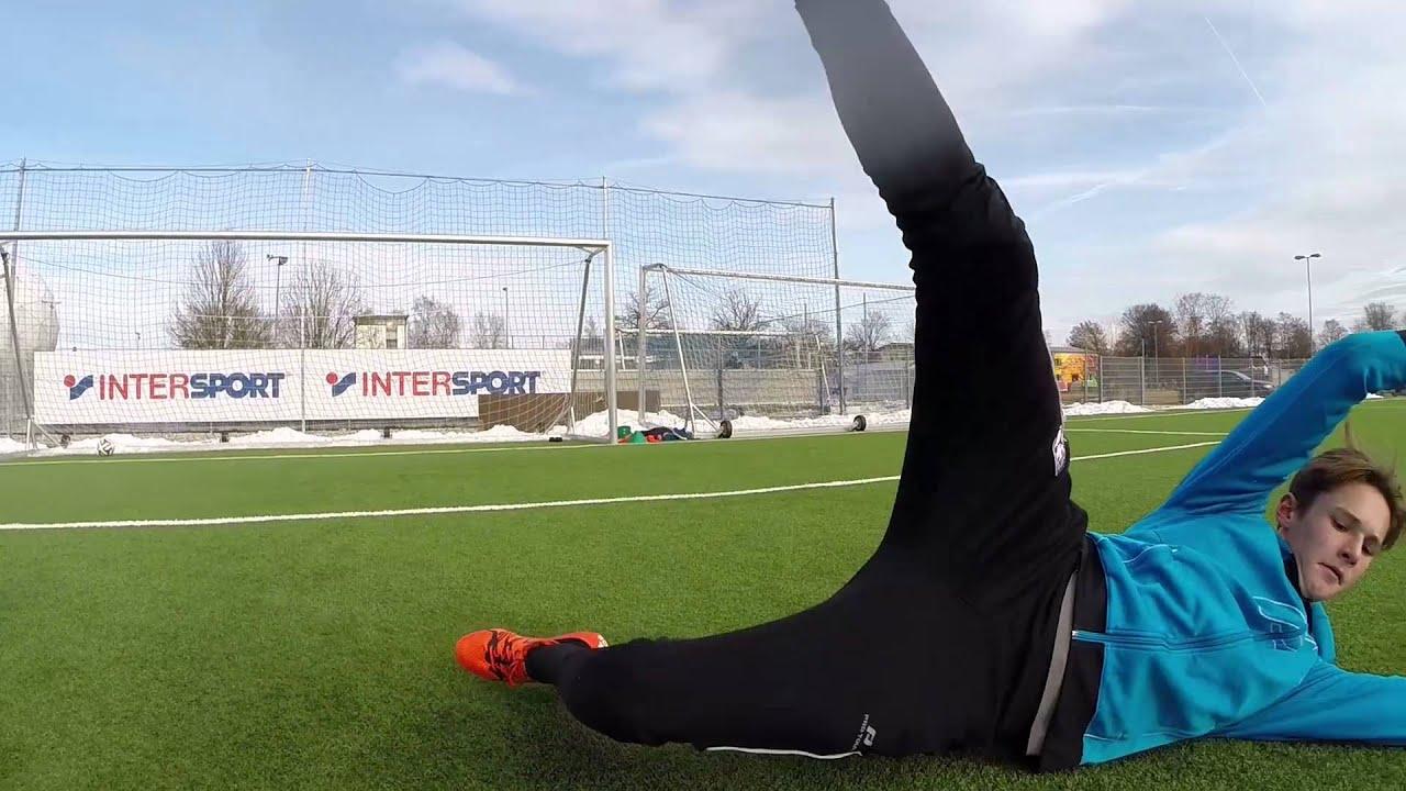 Goalkeeper Training At Deutsches Fussball Internat