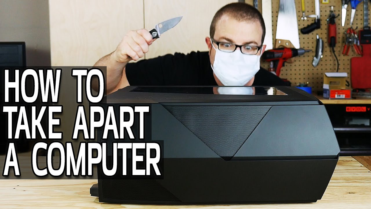 How To Take Apart A Computer