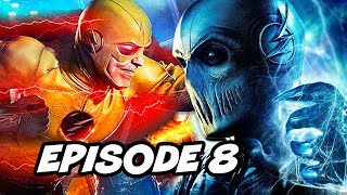 The Flash 5x08 100th Episode - Reverse Flash, Zoom Savitar Easter Eggs