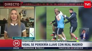 Arturo Vidal se perdería llave con el Real Madrid