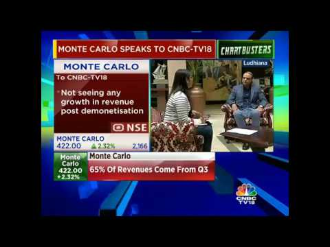 Hope To Maintain Flat Revenue Growth This Fiscal Rather Than Projected Growth Of 10%: Monte Carlo