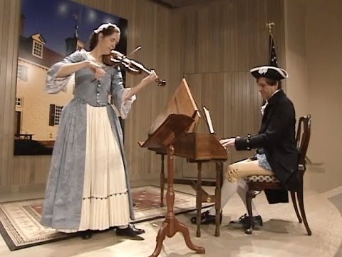 History Notes: The Music of Washington's World — Music in the Home