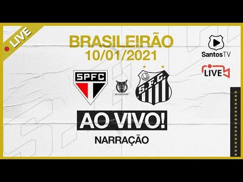 🔴 AO VIVO: SÃO PAULO 0 x 1 SANTOS | BRASILEIRÃO (10/01/21)