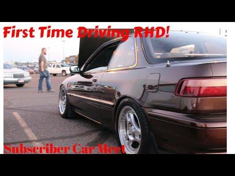 I Got To Drive My FIRST RHD Integra!