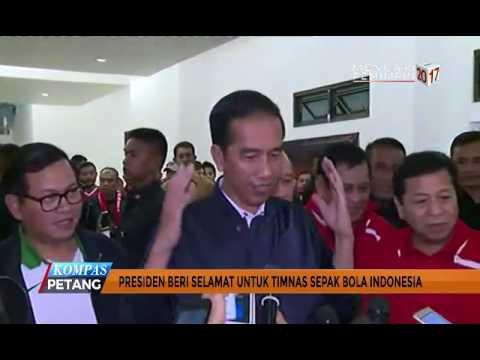 Jokowi Beri Selamat Untuk Timnas Indonesia