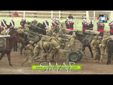 Demostración militar del Grupo de Artillería de Montaña 6