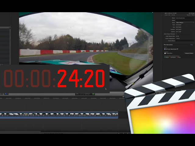 FCP X Timecode Window