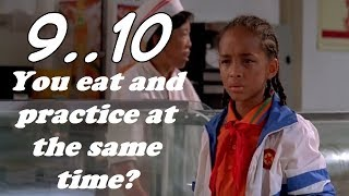 Learn And Practice English Through Movies #The_Karate_Kid مراجعة 9/10