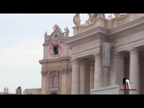 Viral video of ghostly figure at Vatican Church   Daily Star