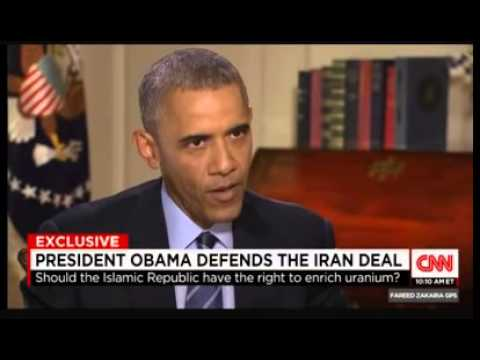Barack Obama Iran Interview on Fareed Zakaria GPS   President Barack Obama Iran Deal Fareed Zakaria