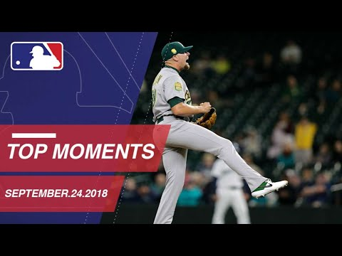 Top 10 Plays of the Day - September 24, 2018