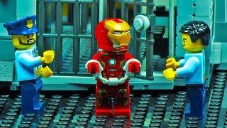 Lego Iron Man Prison Break