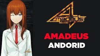 Amadeus do anime Steins; Gate 0 para celular Android | Amadeus Android