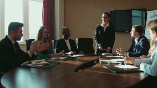 Business Meeting - Stock Footage