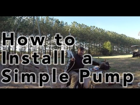 How to install a Simple Pump