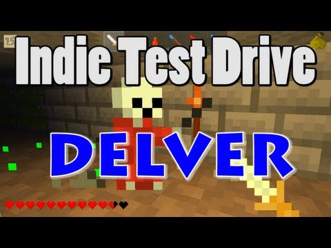 Indie Test Drive: Delver (1st-Person Action Roguelike)