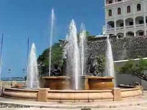 El Paseo De La Princesa El Viejo San Juan Puerto Rico Youtube
