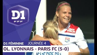 J4 : Olympique Lyonnais - Paris FC (5-0) / D1 Féminine