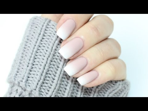 Easy Ombré French Manicure!