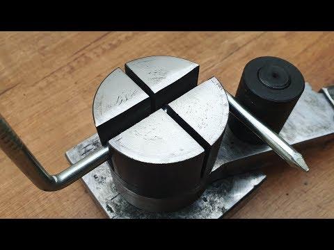 Make A Metal  Bender (Rod and Sheet Metal)