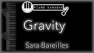 """Piano karaoke instrumental for """"gravity"""" by sara bareillesyou can now say thank you and buy me a coffee! ☕️it will allow to keep bringing the best pia..."""