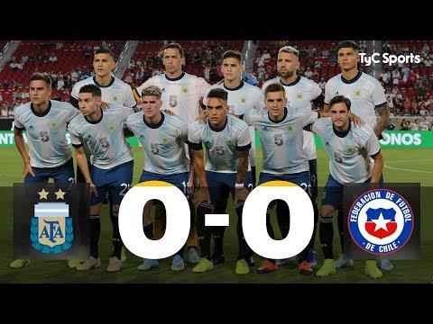 Sin goles ante Chile, la selección de Scaloni dejó buenas sensaciones