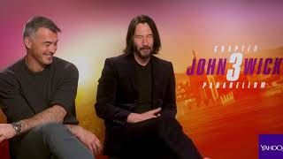 Keanu Reeves And Chad Stahelski On 'The Matrix', 'John Wick 4' Ideas
