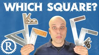 All about squares for woodworking.