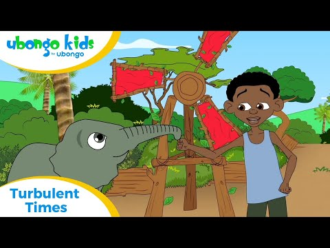 EPISODE 40: Turbulent Times! | Ubongo Kids | African Educational Cartoons