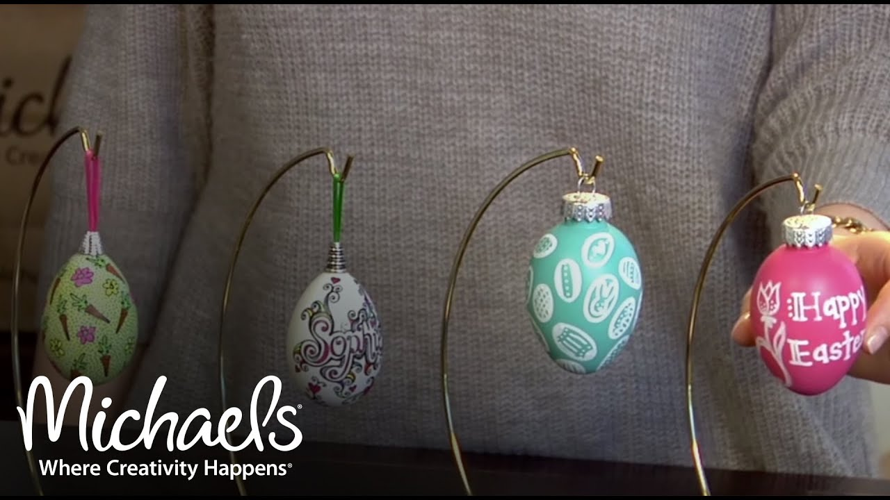 Easy Easter Egg Craft Ideas Easter Projects Decor Michaels